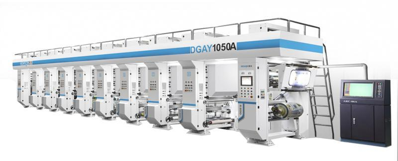 High Speed Rotogravure Press, DGAY1050A Servo Control Printing