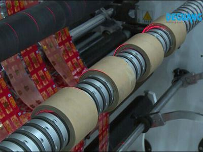 Automatic Roll to RollSlitter Rewinder Machine