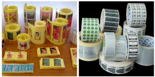 Flexographic Press, 4 Color Label Printing